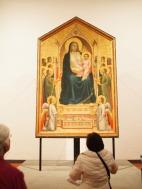 "Giotti's ""Ognissanti Madonna"""