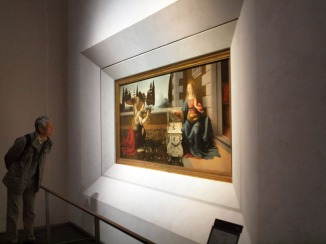 Leonardo da Vinci and Andrea del Verrocchio, 'Annunciation'