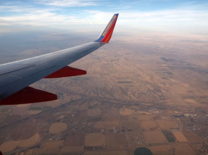 Over the Midwest