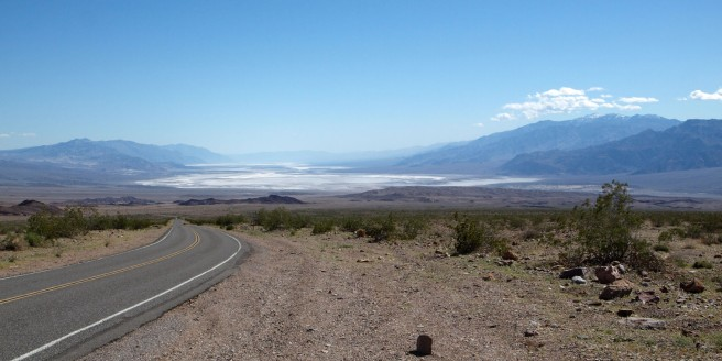 Death Valley from the Beatty Cutoff road
