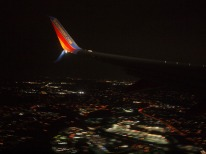Arriving in Maryland at night