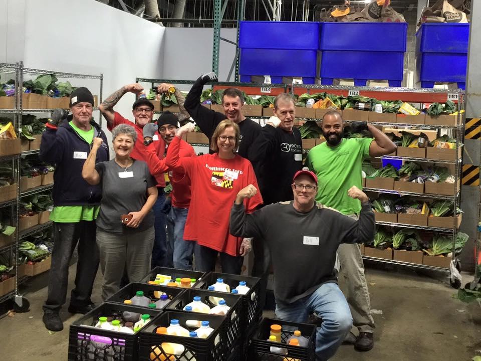 Distro Volunteers Muscles